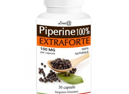 PIPERINA EXTRAFORTE 100mg per CAPSULA! 100% Naturale Line@Diet