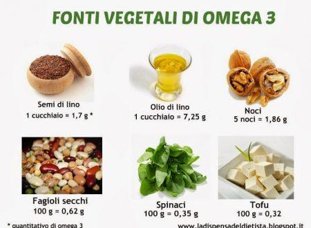 Omega 3 per la salute propriètà e benefici