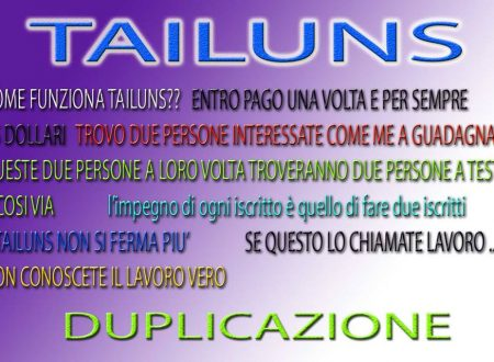 TAILUNS INTERNATIONAL PIATTAFORMA DI CROWDFUNDING
