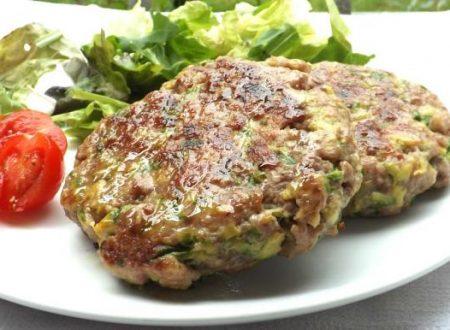 Hamburger tacchinoe verdure